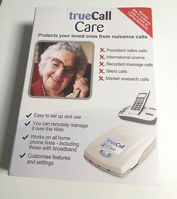 TrueCall Care - protect your loved ones from nuisance calls