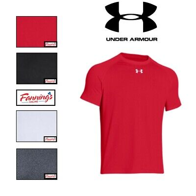 Under Armour Men's Heat Gear Loose Fit Short Sleeve Shirt SIZE & COLOR VARIETY