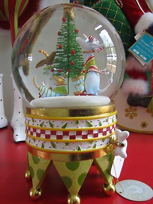 Patience Brewster/Dept. 56 Bark The Herald Snow Globe