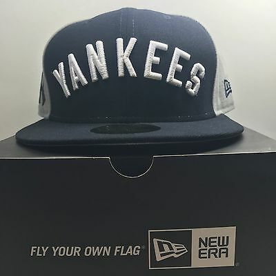 New Era 59Fifty New York Yankees   7 1/4 Fitted Baseball Cap 4  Free Post