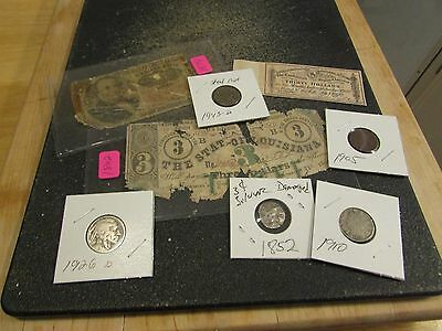Collection Of Old U.s. Coins And Currency  Set #  2    Will Combine Shipping
