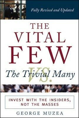 NEW The Vital Few Vs. The Trivial Many by George Muzea BOOK (Paperback)