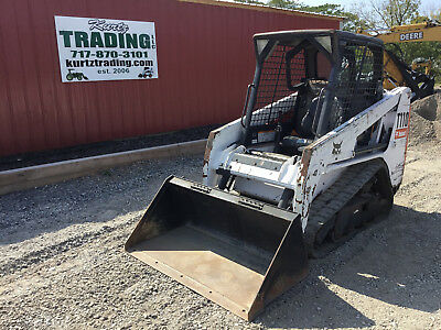 2009 Bobcat T110 Tracked Skid Steer Loader! Coming in Soon