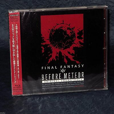 Before Meteor FINAL FANTASY XIV Original Soundtrack Blu-ray Music From Japan