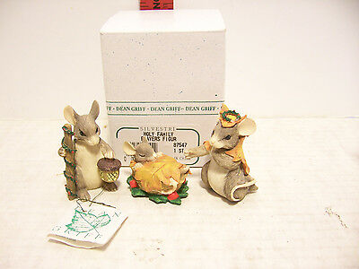 """Charming Tails Figurines By Dean Griff """"holy Family Players Figurines"""""""