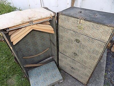 Antique Hartman Steamer Trunk by Hartman Trunk Company ***LOCAL PICK UP ONLY**