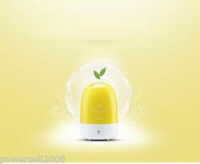 New Mist Discharge Yellow Air Humidifier Purifier Household Mini Mute Aroma