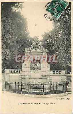 CPA Cahors Monument Clement Marot