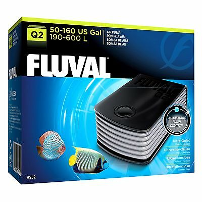 Fluval Q2 Aquarium Air Pump Low Noise