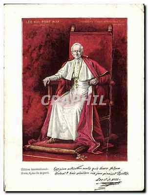 CPA Pape Pope Leo XIII