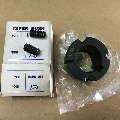 1008 Taper Lock Bush Shaft Fixing Metric - Choose Bore 10mm - 25mm
