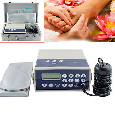 Pro Ionic Detox Foot Bath Spa Chi Cleanse Machine Far infrared Ion Cell Home FDA