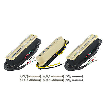 NEW 3PCS Electric Guitar Pickups Neck/Middle/Bridge Pickups for SSS Strat Guitar