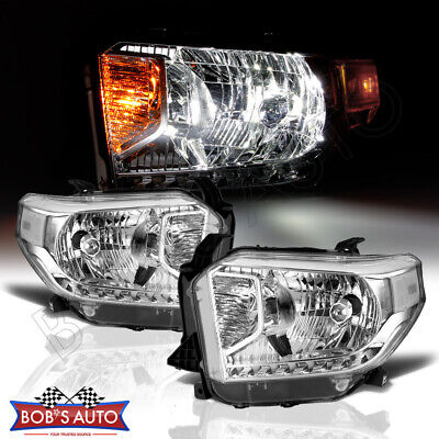 For Toyota Tundra SR SR5 2014-2015 Clear OE Style Headlight Replacement Assembly