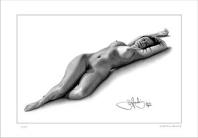 Nude  Female  Study     Sleeping Beauty         Limited Edition