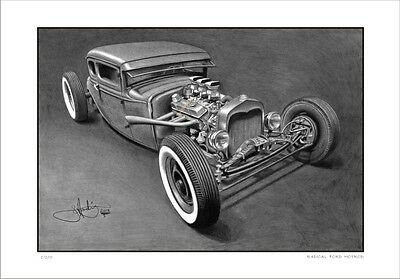 32'  Ford Radical  Rat  Hot Rod         Limited Edition