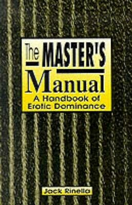 NEW The Master's Manual by Jack Rinella BOOK (Paperback) Free P&H
