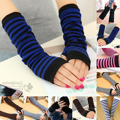 mitaines Femmes protection arm warmer long mitaines stretch gants manches