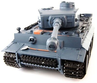 Heng Long Radio/Remote Control RC Tiger Tank with Sound and Smoke