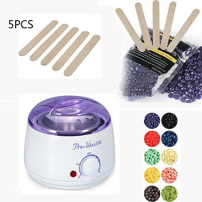 Beauty Melting Pot Waxing Professional Salon Heater Warmer Hair Removal Kit Set