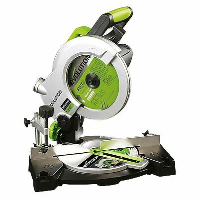 New Evolution Multipurpose Compound Mitre Straight Chop Saw Cut Wood Metal Blade