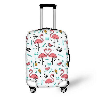 26/28/30 Inch Trendy cartoon Printed Luggage Cover Travel Suitcase Protective