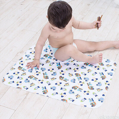 Waterproof Diaper Change Pad Baby Washable Mat for Home Travel S M L Size 1 Pcs