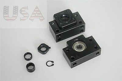 BF12 BK12 end support bearing block for Ball Screw SFU1605 CNC Accessories