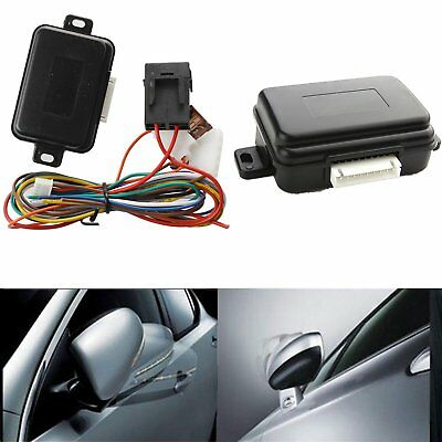 Universal Side Mirror Rear View Auto Lock Folding Unfold Closer System Modules