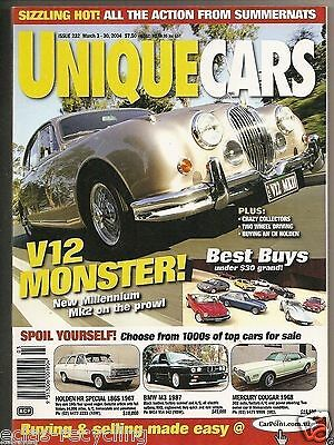 Unique Cars Magazine Issue 232 -2004 V12 Monster New Millennium Mk2 on the prowl