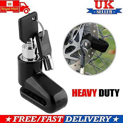 Heavy Duty Motorbike Disc Lock For Motorcycle Scooter Padlock With Key Security