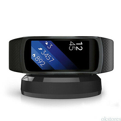 Charging Cradle Dock Charger for Samsung Gear Fit 2 II SM-R360 Smart Watch OT25