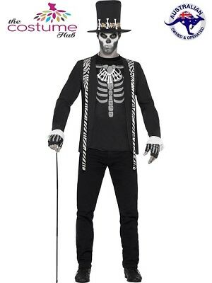 Witch Doctor Costume Adult Voodoo Halloween Horror Fancy Dress Party Outfit