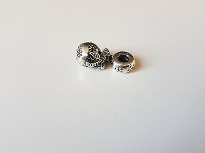 100% Authentic Pandora Sterling Silver Snowball Charm