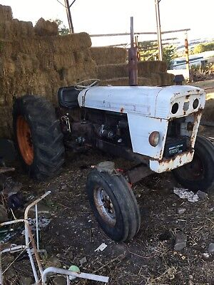 david brown 990 tractor restoration project