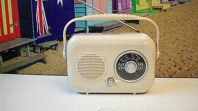 VINTAGE DESIGN Sainsbury's FM/ AM/ LW Analogue Radio PR-100