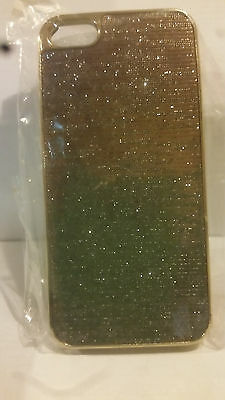 Gold Bling Hard Back Shell Case for iPhone 5