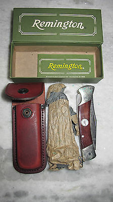 Remington One R9 Outdoorsman Knife And Sheath New In Box