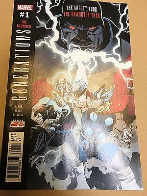 Generations Unworthy Thor & Mighty Thor #1 1st Print NM