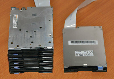 BULK LOT 7 x Slimline Internal Floppy FDD Drives, 1x Sony MPF820, 6xTeac FD-05HG