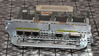 Cisco NM-4E 4-port Ethernet Router Module Card for 2600/3600 routers