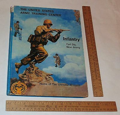 The United States Army Training Center - INFANTRY - FORT DIX illustrated hb BOOK