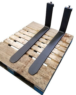 "Forklift Forks - Class II - 1-1/2"" x 4"" x 42"""