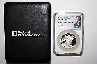 Saint-Gaudens National Park 2016 1 oz Silver High Relief Proof PF 70 Ultra Cameo
