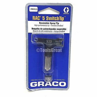 Graco Rac 5 286523 Switch Tip Paint Spray Tip Size 523
