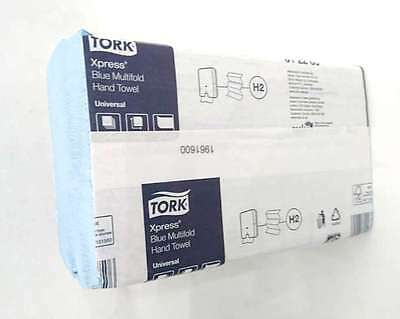 Tork Xpress Blue Multifold Paper Kitchen Hand Towels Cleaning Paper Towel Bulk