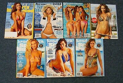 SI Swimsuit Issue 10 book lot 2011,2013,2014,2015, 3-2016 VR Covers & all 3 2017