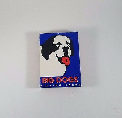 Big Dogs Sportswear Playing Cards COMPLETE Playing Card Deck Saint Bernard Dog