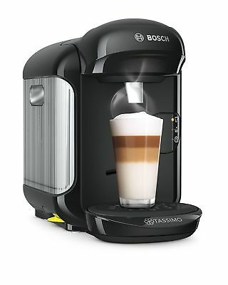 Bosch Tassimo Vivy TAS1252GB Hot Drink/Coffee Machine - Black BRAND NEW 1300W