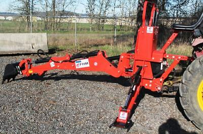 Tractor Backhoe, 7'Dig 3-Pt Self Contained, PTO Powered Cat.I 30Hp+ (FH-BH7)